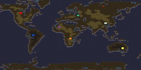 Starcraft World Map (30 hours)